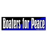 Boaters for Peace Bumper Sticker