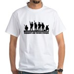 Proud Supporter of Our Troops T-Shirt