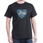 Child Abuse Prevention Support Word Cloud T-Shirt