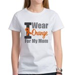 I Wear Orange For My Mom Women's T-Shirt