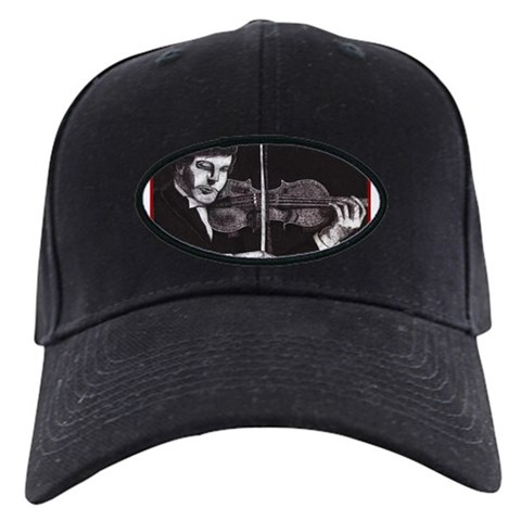 'Phantasia'   Violin Black Cap by CafePress