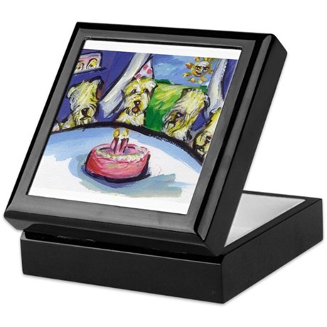 Wheaten Birthday party Keepsake Box
