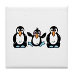 Penguin Love Tile Coaster