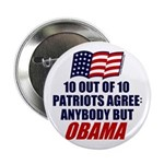 "Anybody but Obama 2.25"" Button"