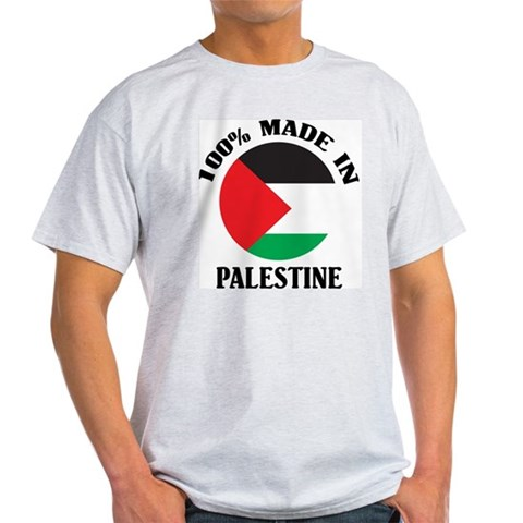 Product Image of 100% Made In Palestine Light T-Shirt