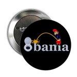 "Whiz on Obama 2.25"" Button"