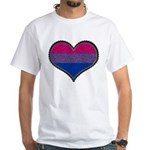 Bisexual Decorative Heart Shirt