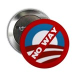 "No Way Obama 2.25"" Button"