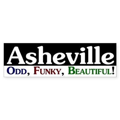 Asheville: Odd, Funky, Beautiful