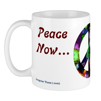 The Kids are Watching Peace Mug