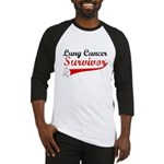Lung Cancer Survivor Baseball Jersey