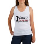 I Wear Pearl Ribbon Women's Tank Top