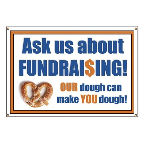 Bobbie's Fundraising  Money Banner by CafePress