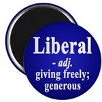 Definition of Liberal Magnets (10 pack)