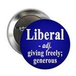 Definition of Liberal Button (10 pack)