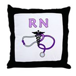 RN Medical Throw Pillow