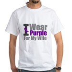 I Wear Purple For My Wife T-Shirts