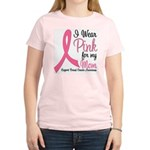 Breast Cancer (Mom) Women's Light T-Shirt