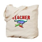 Teachers Books Tote Bag