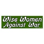 Wise Women Against War Sticker