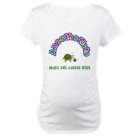 Anesthetist  Baby Maternity T-Shirt by CafePress