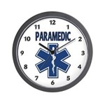 Paramedic Star of Life Wall Clock