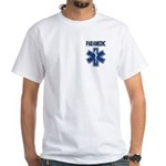 Paramedic Star of Life White T-Shirt