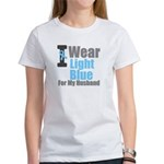 I Wear Light Blue For My Husband T-Shirts & Gifts