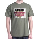 Bandogs woman's best friend T-Shirt