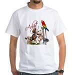 Adopt a Pet White T-Shirt