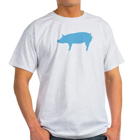 Pig  Animal Light T-Shirt by CafePress
