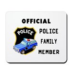 Police Family Mousepad