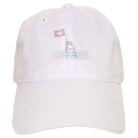'LifeGuard Stand' Color  Beach Cap by CafePress