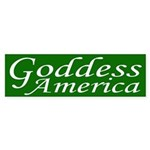 Goddess America (bumper sticker)