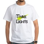 Three Lights Tour Shirt (Two- White T-Shirt