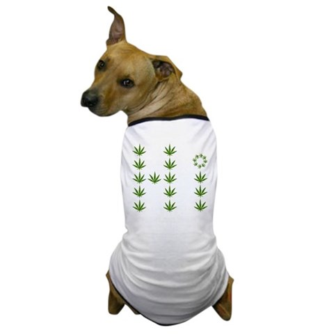 Product Image of Funny Weed Dog T-Shirt