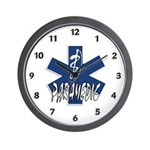 Paramedic Action Wall Clock