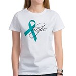 Tourette's Ribbon Hope Women's T-Shirt