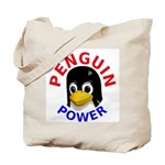 Penguin Power Tote Bag