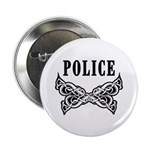 "Police Tattoo 2.25"" Button (100 pack)"