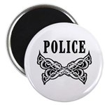"Police Tattoo 2.25"" Magnet (10 pack)"