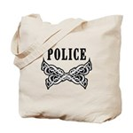 Police Tattoo Tote Bag