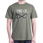 Police Tattoo Dark T-Shirt