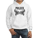 Police Tattoo Hooded Sweatshirt