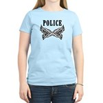 Police Tattoo Women's Light T-Shirt