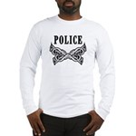 Police Tattoo Long Sleeve T-Shirt