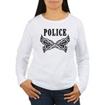 Police Tattoo Women's Long Sleeve T-Shirt