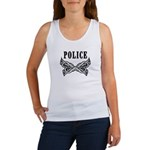 Police Tattoo Women's Tank Top