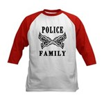 Police Tattoo Kids Baseball Jersey