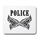 Police Tattoo Mousepad